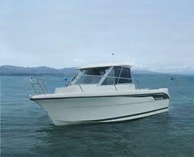 Das ist unser Ocqueteau Motorboot Verleih