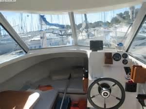 Unser Motorboot Ocqueteau+innen Motorboot Verleih