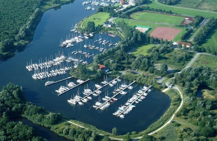 Ein ruhiger Liegeplatz für Yachten