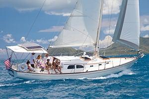 Das Bild Yacht zu Motorbootschule und Segeln am Bielersee3